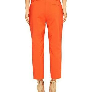 Vince Camuto Red Hot Front Zip Crop Pants